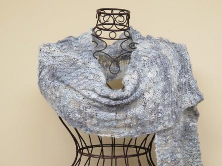 silver wrap, Barbara